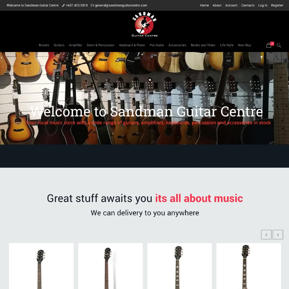 sandman guitar
